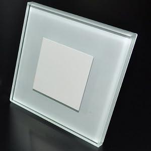 5er Set LED Wandleuchten 230V Kaltweiß SUNLED 100x100mm GlasAlu Hochwertig Treppenlicht Wand Stufen Treppen Beleuchtung  BaumarktÜberprüfung und weitere Informationen
