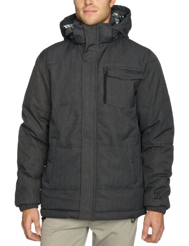 O'Neill Venom Men's Jacket Grey AOP Large