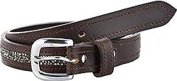 STERLING GERMANY Women's Belt (B519-ROCK, Brown, 30)