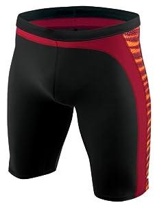 Nike Swim Men's Team Foil Skin Jammer Swimsuit - TFSS0008 - 640 Red Size-36