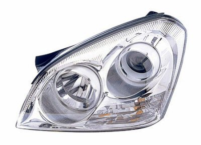 -Black 6 inch 100W Halogen 2008 Mazda CX-7-RHD Post mount spotlight Passenger side WITH install kit