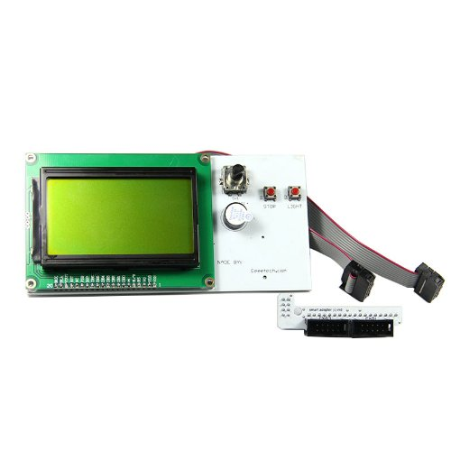 Geeetech Smart Controller Display Lcd12864 Dots Graphic Matrix Lcd Module And Adaptor For Ramps1.4 Reprap,Makerbot