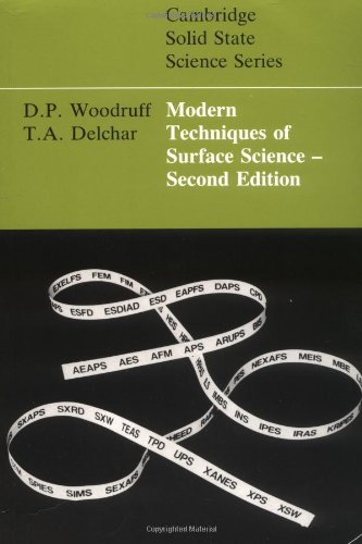 Modern Techniques of Surface Science (Cambridge Solid...