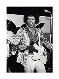 ポスター フォトグラフ Jimi Hendrix