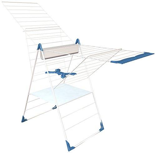 herby-3050-sechoir-a-poser-semi-automatique-acier-thermoplastifie-thermolaque-blanc-bleu-61-x-6-x-11