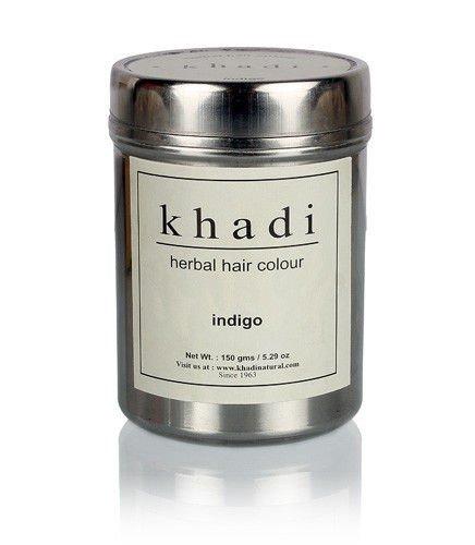 Khadi - Herbal Indigo Hair Color - 150g Shipping Fast herbal muscle