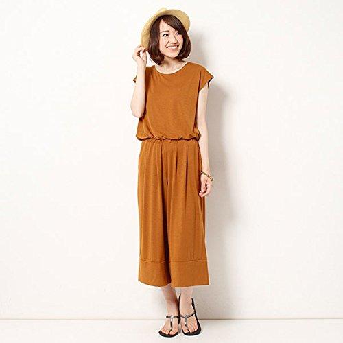 ビス(ViS) ガウチョサロペット【25キャメル/M】 : 服&ファッション小物通販 | Amazon.co.jp