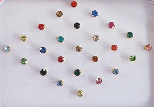 25-colorful-2mm-crystals-eye-bindi-sticker-pack-bindis-self-adhesive-fake-nose-stud-stick-on-studs