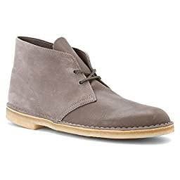 Clarks Men\'s Desert® Boot,Storm Leather,US 8.5 M