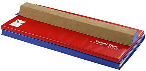 Tumbl trak sectional beam primary rainbow mat combo for Bright beam goods