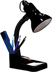 ESN 999 Stylish Black 001 Table Lamp For Home/Office/Study