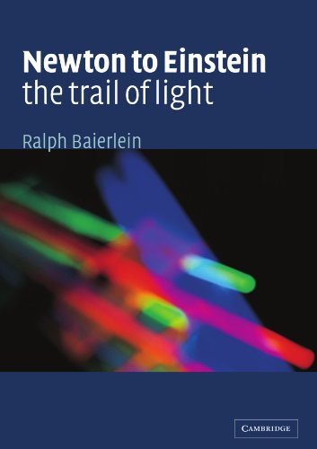 Newton To Einstein: The Trail Of Light: An Excursion To The Wave-Particle Duality And The Special Theory Of Relativity