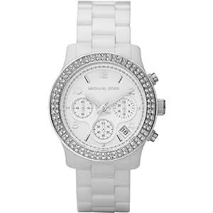 Michael Kors Damen-Armbanduhr Chronograph Quarz Keramik MK5188