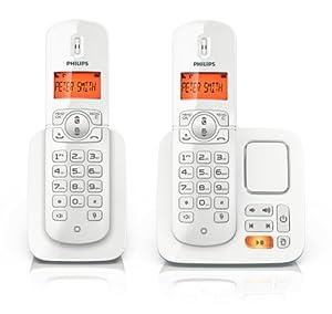 telephone sans fil philips duo avec repondeur. Black Bedroom Furniture Sets. Home Design Ideas