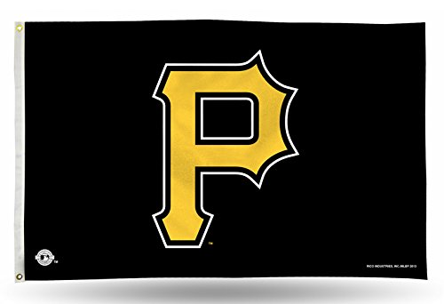 MLB Pittsburgh Pirates 3-Foot by 5-Foot Banner Flag