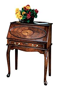 Home office secretary desk good for dining room or living room office beutiful - Secretary desk for small spaces property ...
