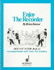 Enjoy the Recorder, Descant Tutor Book 2A: Tchrs' Bk. 2A