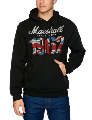 Bravado Marshall 1962 Union Jack Men's Sweatshirt Black Medium