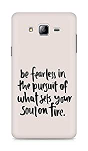 AMEZ be fearless i the pursuit Back Cover For Samsung Galaxy ON7