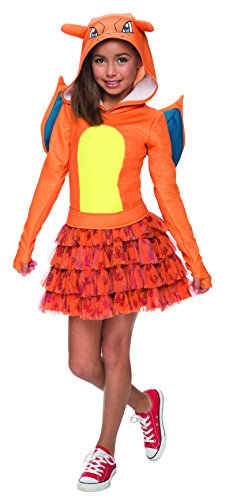 Girls Pokemon Halloween Dress Costume Charizard Halloween Idea