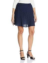 People Women's Asymmetric Skirt (P20402064964219_Navy_L)