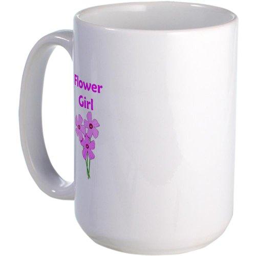 Cafepress Flower Girl Wedding Favors Large Mug Large Mug - Standard