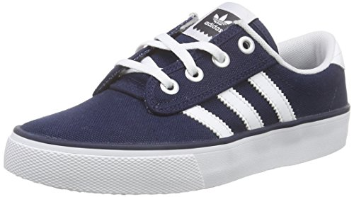 adidas OriginalsKiel - Scarpe da Ginnastica Basse Unisex - Adulto , Blu (Blau (Collegiate Navy/Ftwr White/Carbon S14)), 42 2/3