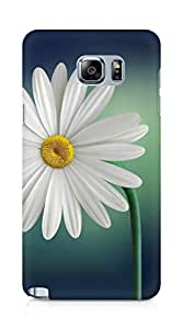 Amez designer printed 3d premium high quality back case cover for Samsung Galaxy Note 5 (Marguerite Daisy flower)