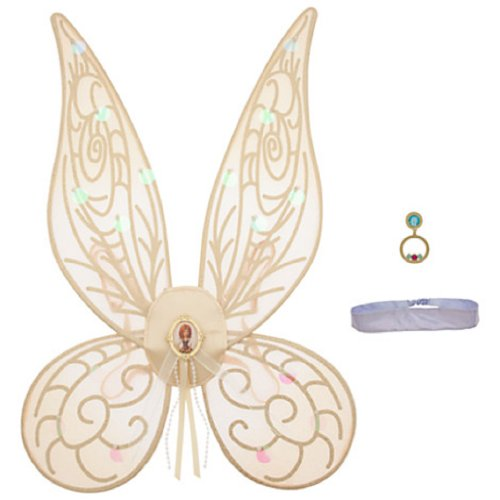 Disney Zarina the Pirate Fairy Wings Accessories Set for Girls - New