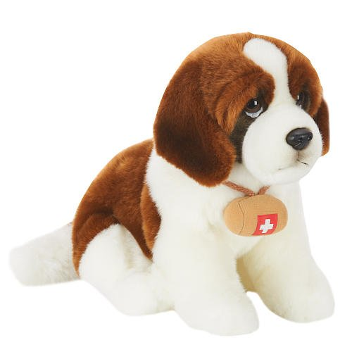 toys-r-us-plush-10-inch-st-bernard-dog-brown-and-white