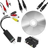 """mumbi Video Grabber USB 2.0 inklusive Software und Anschlusskabel Setvon """"mumbi"""""""