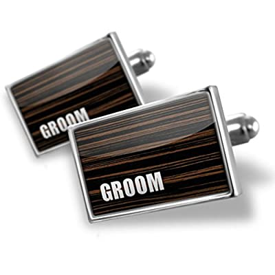 Sterling Silver Cufflinks Groom, Wedding - Neonblond