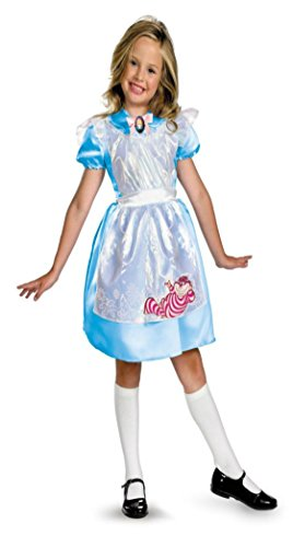 Girls Alice Classic Kids Child Fancy Dress Party Halloween Costume