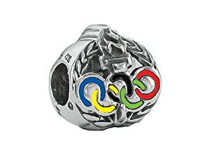Zable Sterling Silver Olympics Rings Bead / Charm
