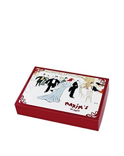 Maxim's de Paris Box of 48 Assorted Fine Chocolate Squares