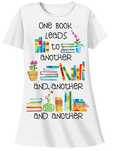 Nightshirt All Cotton One Book Leads to Another