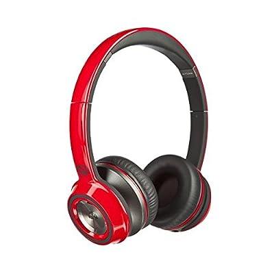 Monster NCredible NTune On-Ear Headphones (CHERRY RED)