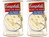 キャンベルスープ クラムチャウダー スープ缶詰1.41kg×2缶