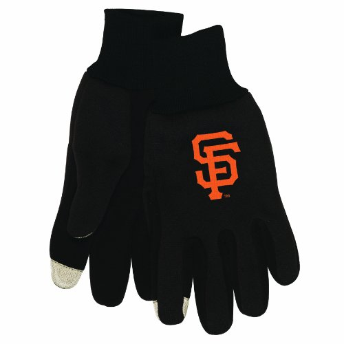 MLB San Francisco Giants Technology Touch Gloves at Amazon.com
