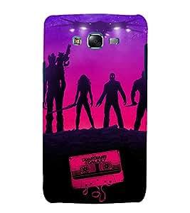 printtech Disneyy Guardians Galaxy Back Case Cover for Samsung Galaxy J7 / Samsung Galaxy J7 J700F