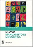 img - for Nuovo manualetto di linguistica book / textbook / text book