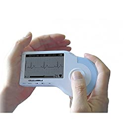 Portable ECG Monitor Handheld Heart Rate Heartbeat Detector Observer - MD100B1