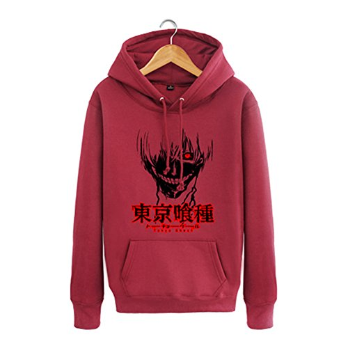 Tokyo Ghoul Anime Kaneki Ken Costume Hoodie, Two Colors, Asian Size