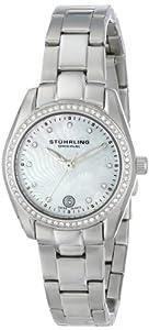 Stuhrling Original Women's 811.01 Vogue Salida Del Sol Analog Display Swiss Quartz Silver Watch