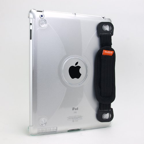 SP207:iPad2用ハンドストラップ付きカバー「modulR case + handstrap(モーダルアール)」