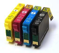 Epson WorkForce WF 2530WF x4 Compatible High Capacity Ink Cartridges 4pk