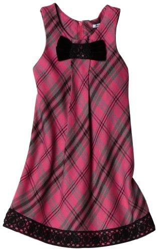 Hartstrings Girls 2-6X Little Plaid Sleeveless Dress