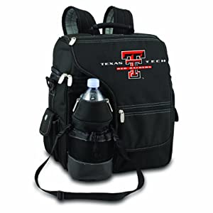 NCAA Texas Tech Red Raiders Turismo Insulated Backpack Cooler by Picnic Time