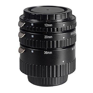 Af Macro Extension Tube Set For Nikon Camera