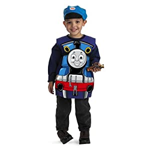 Thomas The Tank Engine Candy Catcher Costume - One Size Child